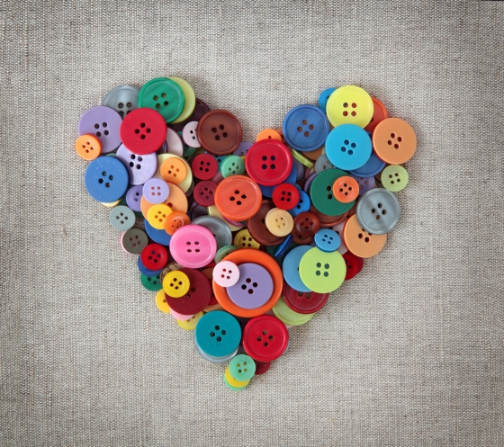 Button Heart_104